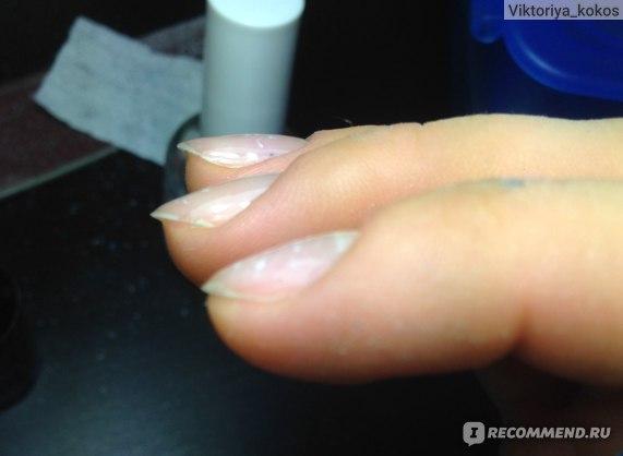 Укрепление ногтей БИО гелем фото