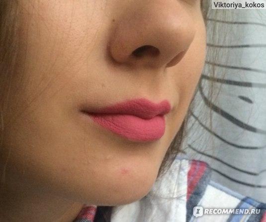 Жидкая губная помада Relouis / Релуи матовая True Matte Complimenti фото