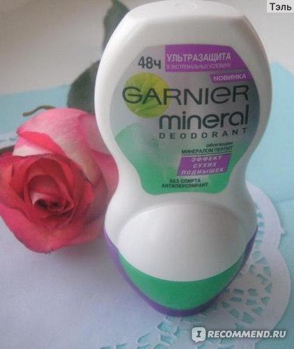 Дезодорант-антиперспирант Garnier mineral deodorant ультразащита в экстремальных условиях 48 часов фото