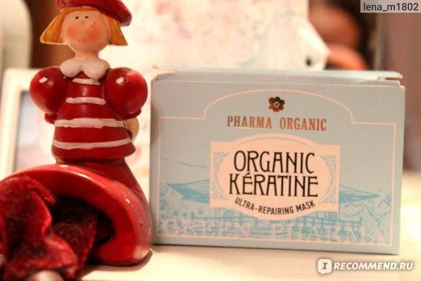 Маска для волос Green Pharma Organic Keratine Ultra-Repairing Mask фото