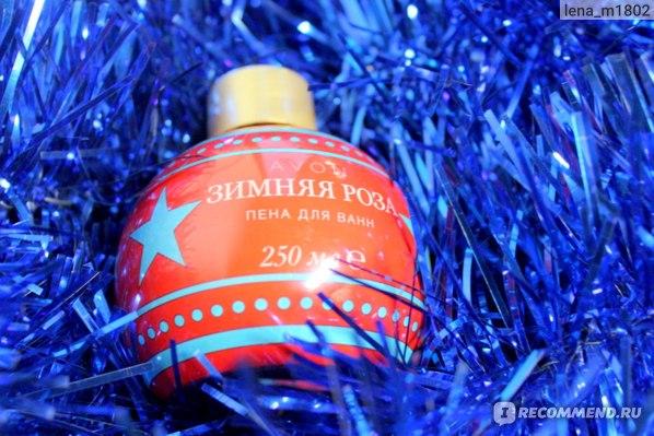 Пена для ванны Avon Зимняя роза Специальный праздничный дизайн фото