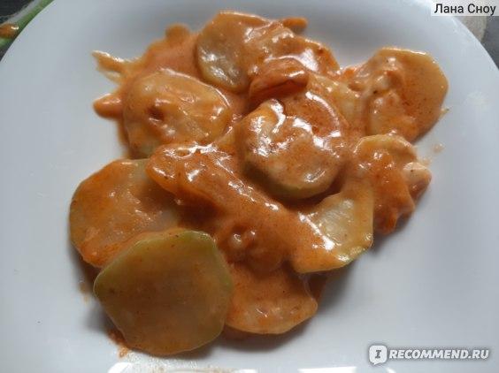 Сыр плавленый КАРАТ С грибами для супа фото