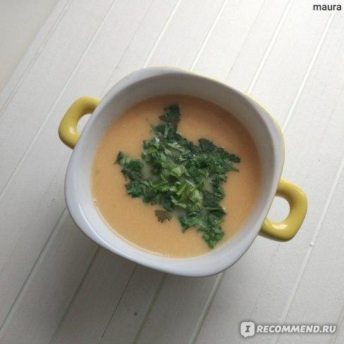 овощной крем суп- пюре (кабачки, цв. капуста, морковь)