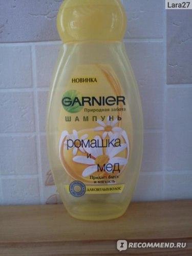 Шампунь Garnier Ultra Doux Ромашка и мед фото
