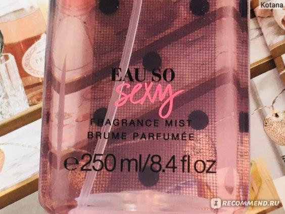 Парфюмированный спрей для тела Victoria's Secret Eau So Sexy Fragrance Mist фото