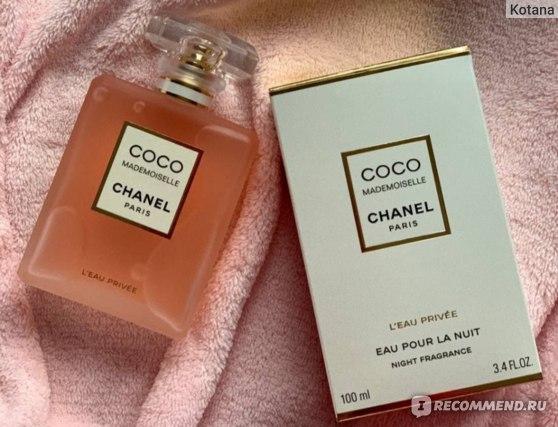 Chanel Coco Mademoiselle L'eau privee  фото