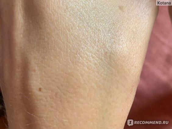 Кожа руки после скраба