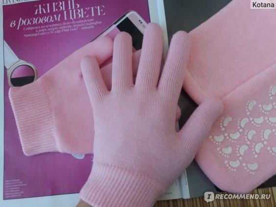 Увлажняющие носки и перчатки Aliexpress   Hot-Free Shipping 2pairs/LOT( Moisturize Soften Repair Whiten Skin Moisturizing Treatment Gel SPA gloves and socks) Skin care фото