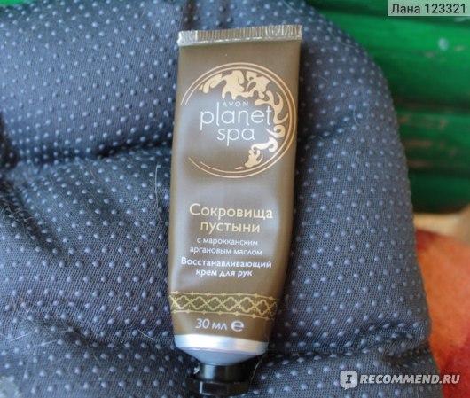 Крем для рук Avon Сокровища пустыни с марокканским аргановым маслом фото