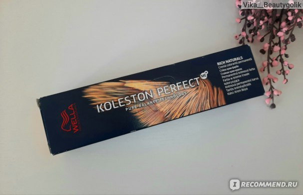 Краска для волос Wella Professional KOLESTON Perfect фото