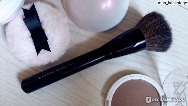 Кисть для лица Sephora Contour bronzer Poudre de soleil countour 46  фото