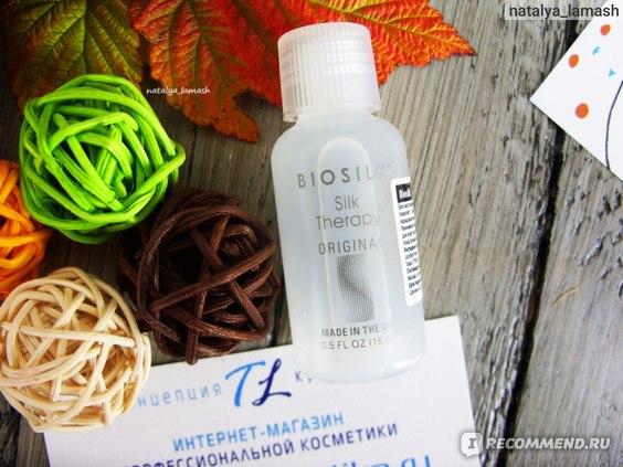 Гель восстанавливающий для волос Biosilk Silk Therapy