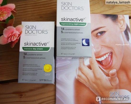 Дневной и ночной крем Skin doctors Skinactive 14
