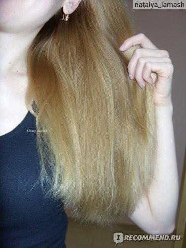 Волосы после применения шампуня и кондиционера JOICO Moisture Recovery