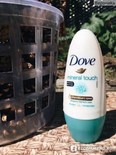 Дезодорант-антиперспирант Dove Mineral touch (шариковый) фото