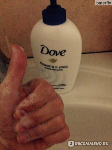 Жидкое крем-мыло Dove Cream Wash фото