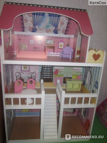 Мой дом Домик для кукол с мебелью Артикул: 4109 фото