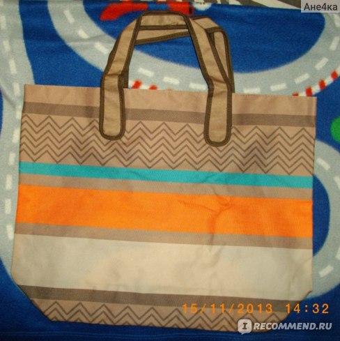 Пляжная сумка в подарок