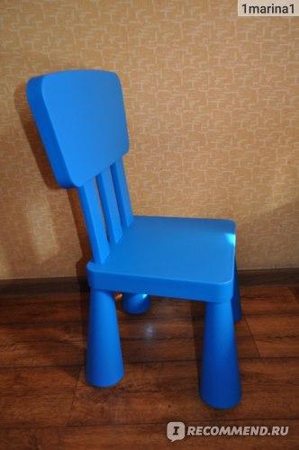 IKEA Детские стул и стол серии МАММУТ  фото