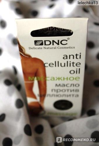 Масло для массажа DNC Против целлюлита фото