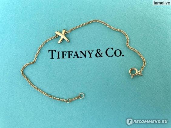 Браслет Tiffany & Co Paloma's Graffiti X из золота 18 карат  фото