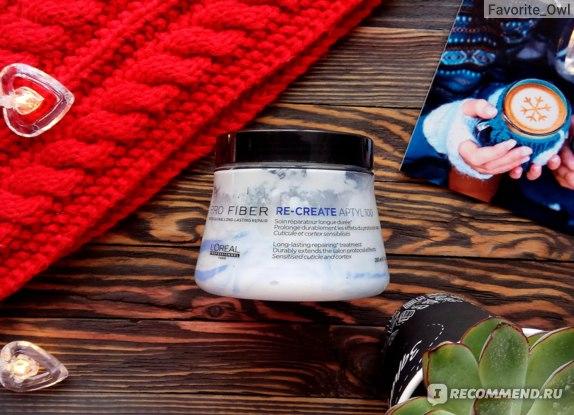 Маска для восстановления тонких волос L'Oreal Professionnel Pro Fiber Re-Create Mask  фото