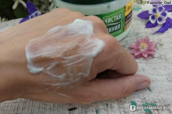 Крем для тела Чистая линия Фитобаня листья смородины и мелисса фото