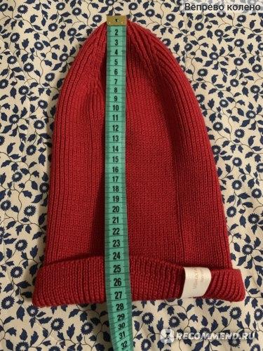 Шапка USHATAVA вязаная с отворотом Артикул: HT1017001 фото