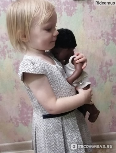 Игрушки Miniland Кукла мальчик африканец 38см фото