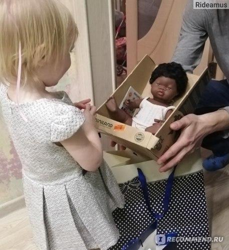 Кукла Miniland, отзыв