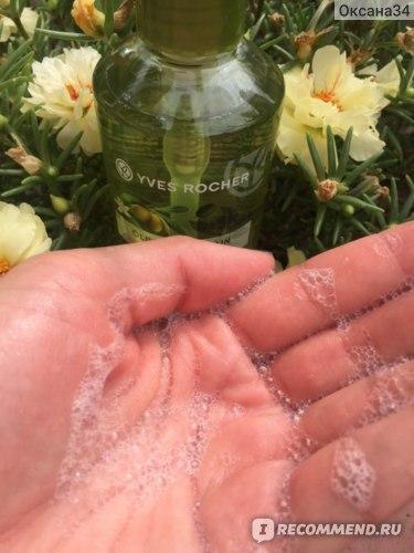 Жидкое мыло для рук Ив Роше / Yves Rocher «Олива & Петигрен» фото