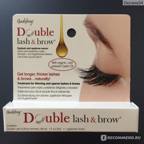 Укрепляющая сыворотка для бровей и ресниц Godefroy Double Lash &a Brow (арт. 601) фото