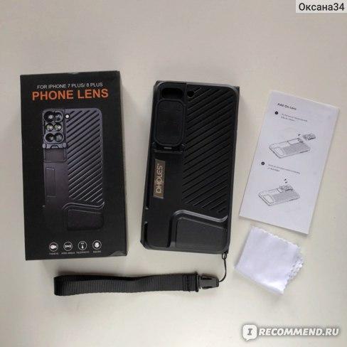 Набор линз для Iphone 8 Plus отзывы