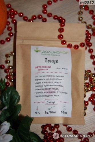 Чай Долина чая Фруктовый Тонус фото