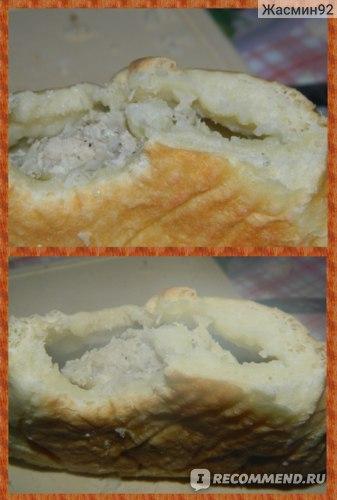 разогретый Курник с курицей и картофелем