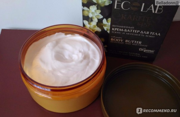 """Масло для тела Ecolab Витаминный крем-баттер """"Тонус и молодость кожи"""" фото"""