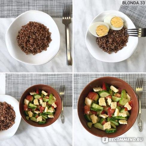Семидневная диета гречневая
