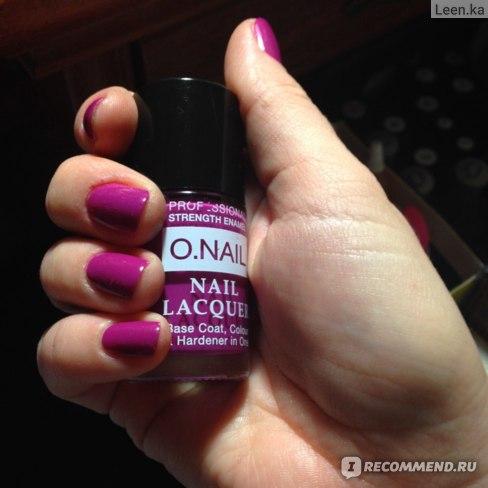 Лак для ногтей O.Nail Professional фото