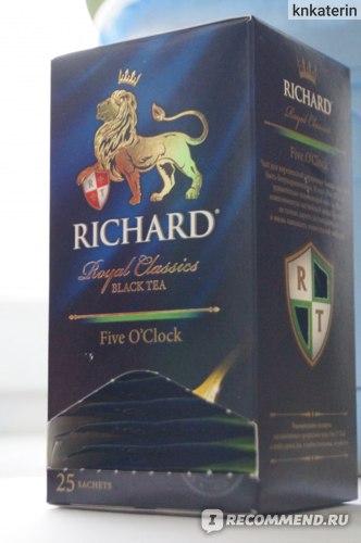 Чай в пакетиках Richard Royal Classics King's Tea №1 фото