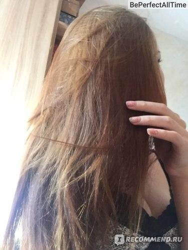 """Крем-маска для волос Домашние рецепты """"Шелковая"""" фото"""