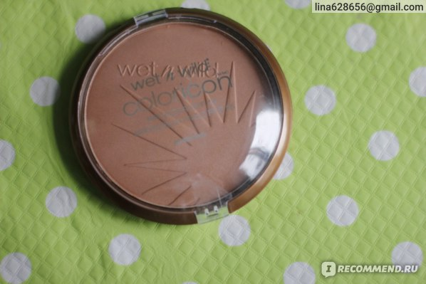 Бронзер Wet n Wild Color Icon Collection Bronzer SPF 15 фото