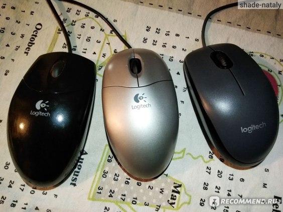 Компьютерная мышь Logitech M100 фото