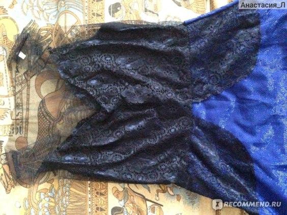 Платье AliExpress 2015 Women Sexy Lace Hollow Dress Summer Style Perspective Dresses O-neck Casual Vestidos fashion Dress фото