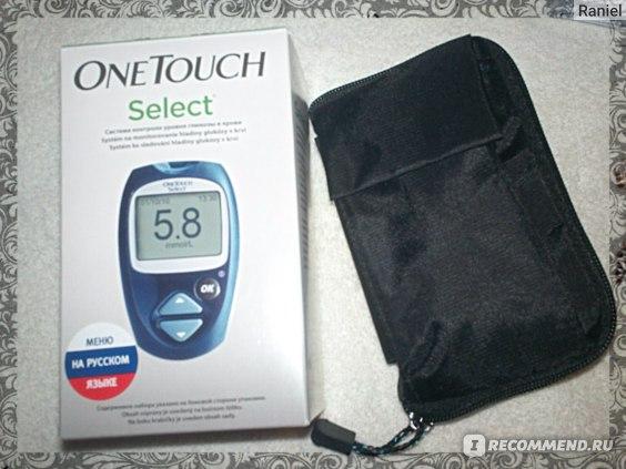 Глюкометр One Touch Select фото