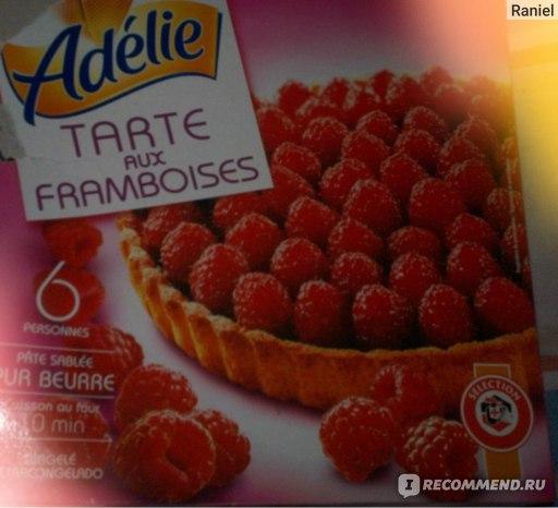 Пирог  Adelie Замороженный малиновый  (TARTE aux FRAMBOISES) фото