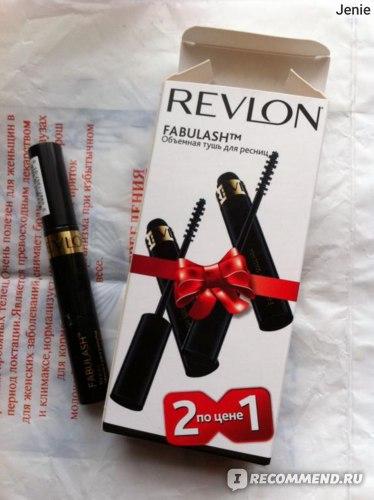 Тушь для ресниц Revlon Fabulash™ Mascara фото