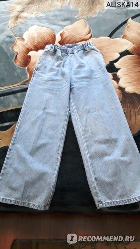 Брюки H&M Широкие на резинке фото