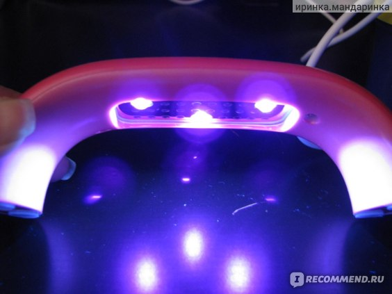 Ультрафиолетовая лампа для наращивания ногтей Aliexpress High Quality Brige shape 6W mini nail art gel curing LED uv lamp 220V 4 colors to choose фото