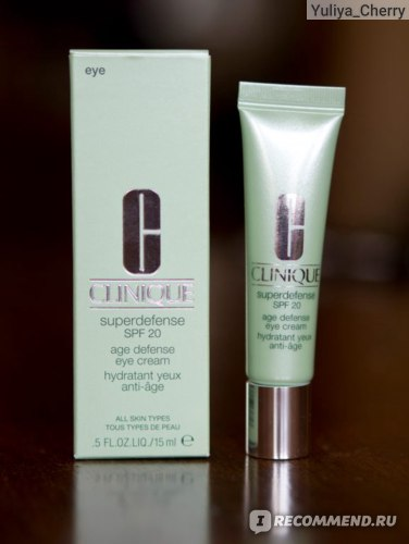 CLINIQUE Superdefense SPF 20 Age Defense Eye Cream