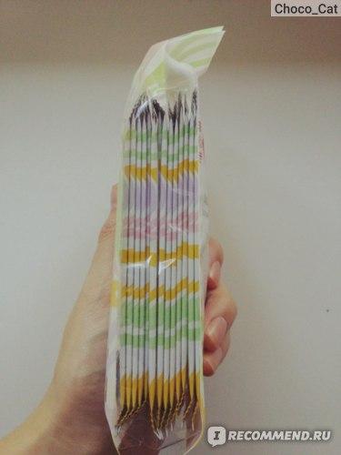 Влажные салфетки для интимной гигиены Maneki Japan Ромашка и алоэ вера  фото